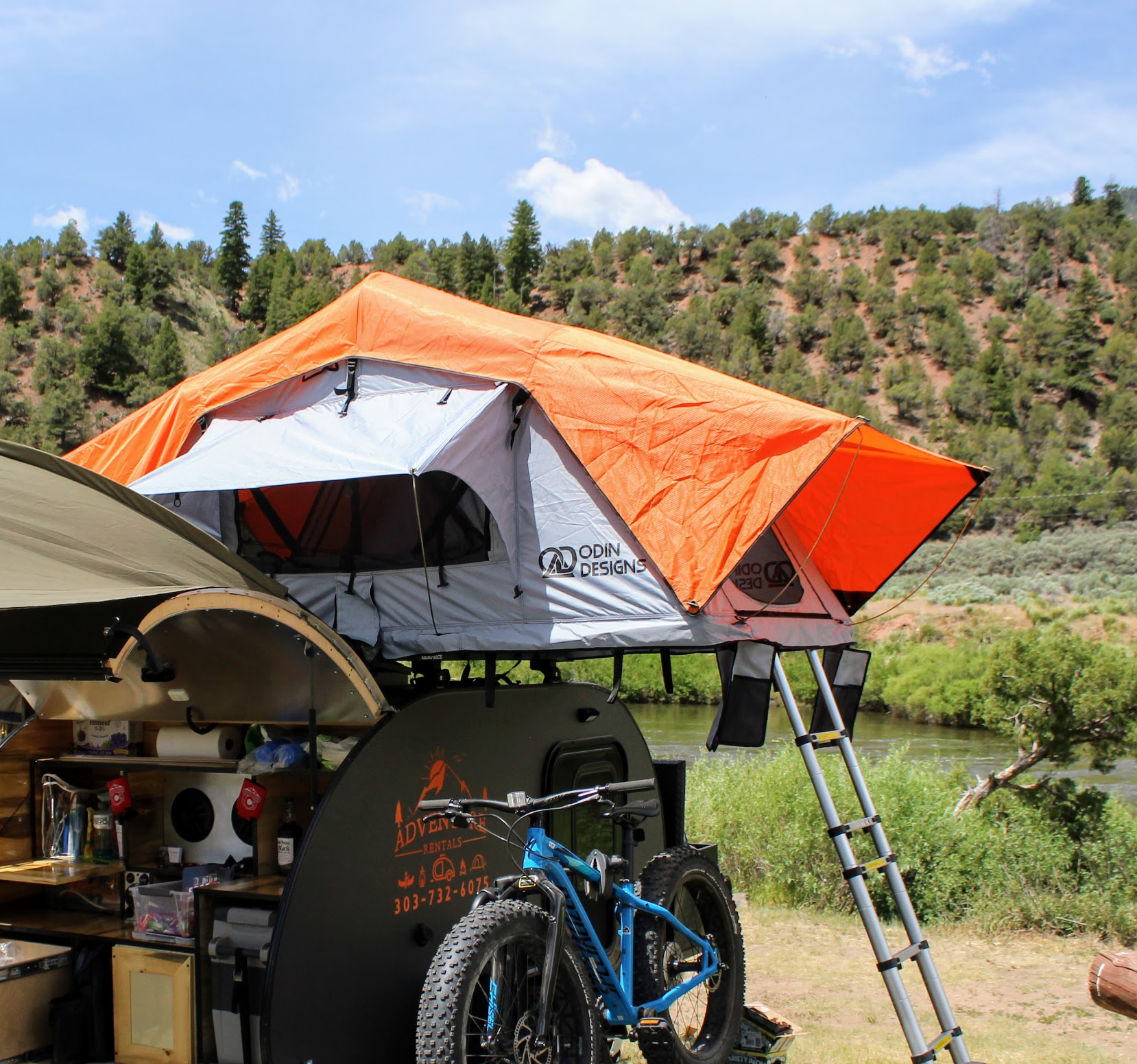 Odin Designs 2 Person Rooftop Tent Adventure Rentals Store